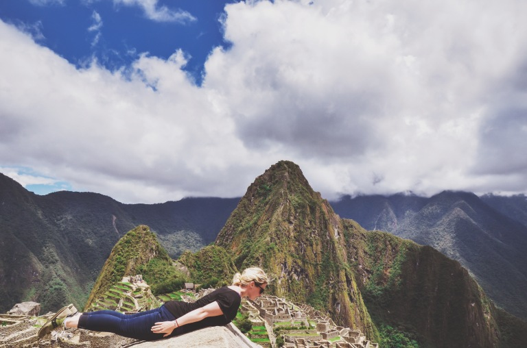 Planking Machu Picchu